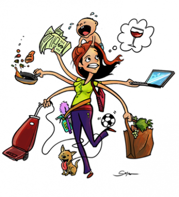 WHY BEING BUSY ISN'T EXERCISE….